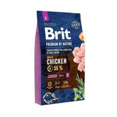 Hrana uscata pentru caini Brit Premium, Junior S, 8 Kg