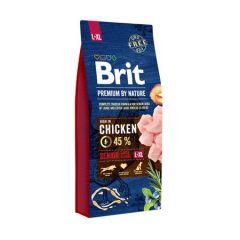 Hrana uscata pentru caini Brit Premium, Senior L & XL, 15 Kg