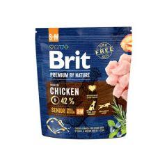 Hrana uscata pentru caini Brit Premium, Senior S & M, 1 Kg