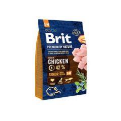 Hrana uscata pentru caini Brit Premium, Senior S & M, 3 Kg