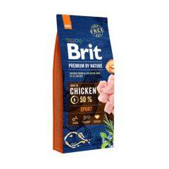 Hrana uscata pentru caini Brit Premium, Sport, 15 Kg