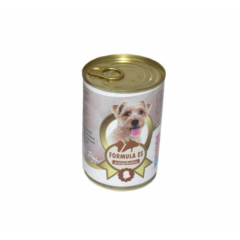 Hrana umeda pentru caini, Formula ES, Pui, conserva 415 g