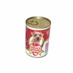 Hrana umeda pentru caini, Formula ES, Vita, conserva 415 g