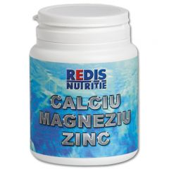 Supliment nutritiv Redis, Calciu, Magneziu, Zinc, 120 tablete