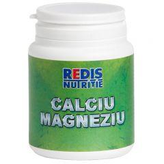 Supliment nutritiv Redis, Calciu, Magneziu, 120 tablete