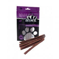 Recompense pentru caini Pet's Dessert Lamb Stick 80g