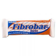 Set 12 batoane proteice Redis, Fibrobar-Forte, 12 x 60g