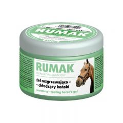 Gel pentru cai, cu efect de incalzire - racire, Rumak, 250g