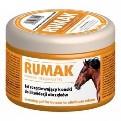 Gel pentru cai, cu efect de incalzire, Rumak, 500g