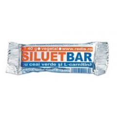 Set 12 batoane proteice Redis, Siluet Bar, 12 x 40g