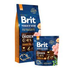Hrana uscata pentru caini Brit Premium, Senior S & M, 15 Kg