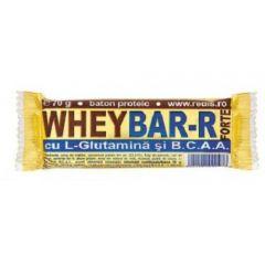 Set 12 batoane proteice Redis, Wheybar-R Forte, 12 x 70g