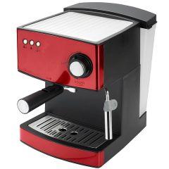Espressor de Cafea si Capucinno Adler, Functie Spumare Lapte, Putere 850W, Rezervor Apa 1.6L Detasabil, Presiune 15 bar, Rosu