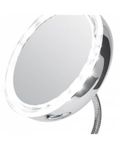 Oglinda Reglabila pentru Machiaj cu Lupa Marire 5x si Iluminare cu LED, Diametru 13cm