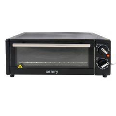 Cuptor Electric Camry, Ideal pentru Pizza, Putere 1300W, Timer si Reglaj Temperatura 100-230 Grade, Culoare Rosu