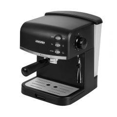 Espressor de Cafea si Capucinno Mesko, Presiune 15 Bar, Spumare Lapte, Putere 850W, Rezervor Apa Detasabil 1.5L, Culoare Negru