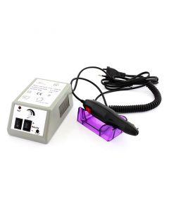 Freza Electrica pentru Unghii, 6 Capete Interschimbabile, 10 Inele Abrazive, Viteza Reglabila pentru Manichiura