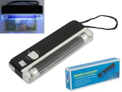 Lampa tester cu raze UV pentru bancnote