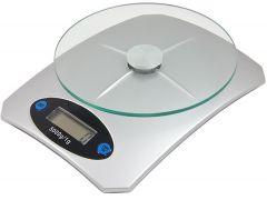 Cantar Electronic de Bucatarie cu Afisaj LCD, Sarcina Maxima 5kg