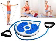 Disc Rotativ cu Corzi Twister Waist Fitness pentru Gimnastica