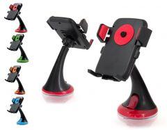 Suport Universal Auto One Touch pentru Telefon cu Latime Reglabila 50-75mm