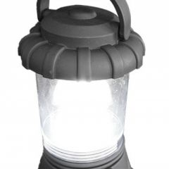 Lampa cu LED Camping cu Maner, Stil Lampas, Inaltime 18,5cm