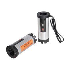 Convertor Invertor Auto de Tensiune de la 12V la 220V, USB, Putere 300W