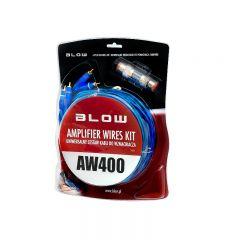 Kit Cabluri Audio Blow AW400 pentru Masina pentru Conectare Boxe, Subwoofere, Statii, Amplificatoare Auto