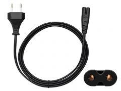 Cablu de Alimentare Blow, 220V cu 2 Pini, Universal pentru Radio, Lungime 3 m