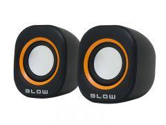 Boxe audio Blow 2.0 , USB, impedanta 4 ohmi, culoare negru/portocaliu