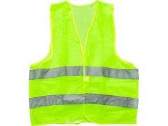 Vesta cu dungi reflectorizante, omologata European, culoare verde