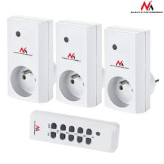 Set 3 prize de perete controlabile din telecomanda + 2 baterii