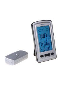 Statie Meteo Omega cu Ceas Digital, Alarma, Afisaj Umiditate, Prognoza Meteo si Temperatura Interioara si Exterioara