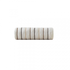 Prosop din Bumbac 100%, Super Absorbant, Dimensiune 100x50cm, Densitate 500gr, Culoare Ocru cu Dungi