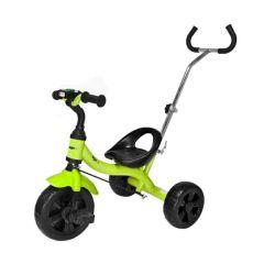 Tricicleta cu Pedale, Maner Parental, Sunete si Lumini pentru Copii, Capacitate 25 kg, Culoare Verde
