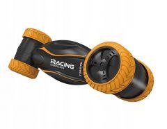 Masina de curse Twister cu telecomanda, culoare negru/portocaliu