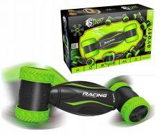 Masina de curse Twister cu telecomanda, culoare negru/verde