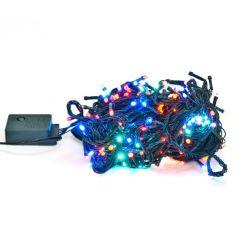 Instalatie Sir LED RGB Multicolor pentru Craciun, Exterior Interior, Lungime 20m, 250 LED-uri