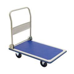Carucior Transport Marfa Tip Platforma cu Maner Pliabil, Capacitate 150kg, Dimensiuni 73x46cm