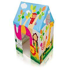 Cort de joaca pentru copii, model casuta jungla, utilizare interior/exterior, 95 x 75 x 107 cm