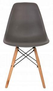 Scaun Modern pentru Bucatarie, Living, Sufragerie sau Exterior, Model PC-005, Culoare Gri antracit
