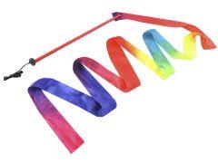 Panglica Multicolora pentru Gimnastica Ritmica, Lungime 200cm