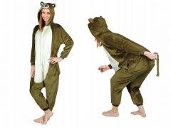 Costum Ursulet cu gluga pentru carnaval sau petreceri, marime XL
