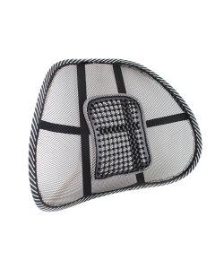 Suport lombar pentru scaun auto, birou sau acasa cu zona de masaj