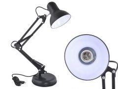 Lampa de Birou din Metal, Ajustabila la 360 Grade, Dulie E27