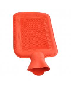 Termofor 2000ml - recipient cauciucat terapeutic pentru apa calda, culoare Rosu