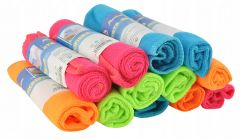 Set 12 x prosoape microfibra pentru bucatarie sau curatenie, dimensiuni / buc 30x30 cm, multicolor