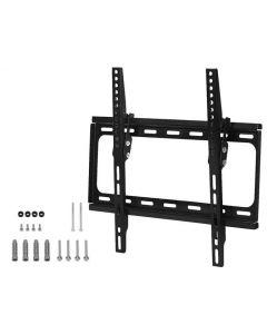 Suport TV de Perete pentru Televizor sau Monitor intre 26-55 inch, Reglabil, Capacitate 20kg, Negru