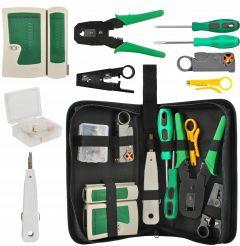 Trusa Instrumente de Testare, Reparare si Mufare Cabluri de Retea