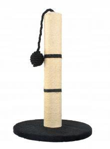 Ansamblu de Joaca pentru Pisici tip Turn cu Jucarie, Inaltime 45cm, Culoare Negru